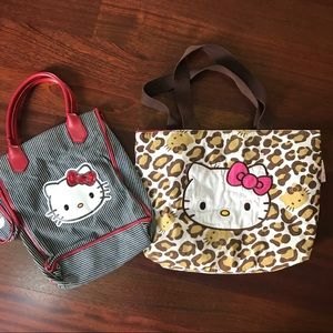 Hello Kitty tote bag bundle
